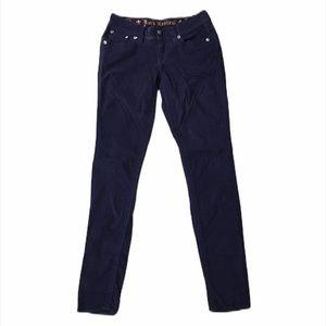 Rock Revival Purple Corduroy Skinny Pants